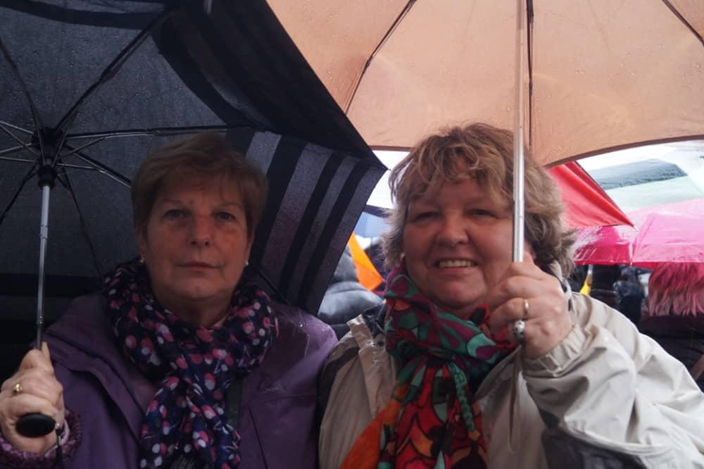 Manifestantes lors de la manifestation des retraités 15 Mars 2018. © Léa Raymond - placegrenet.fr