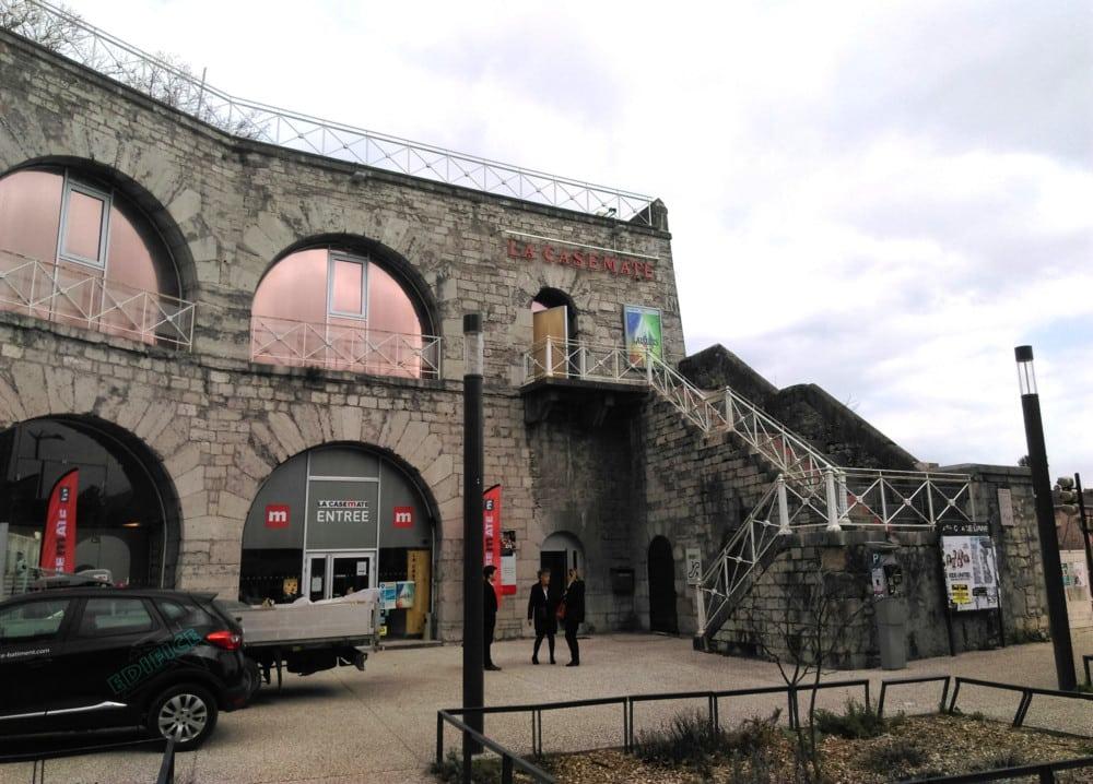 La Casemate devrait être en mesure de rouvrir son premier étage et reprendre ses activités normales à compter du mois d'octobre au plus tard © Florent Mathieu - Place Gre'net