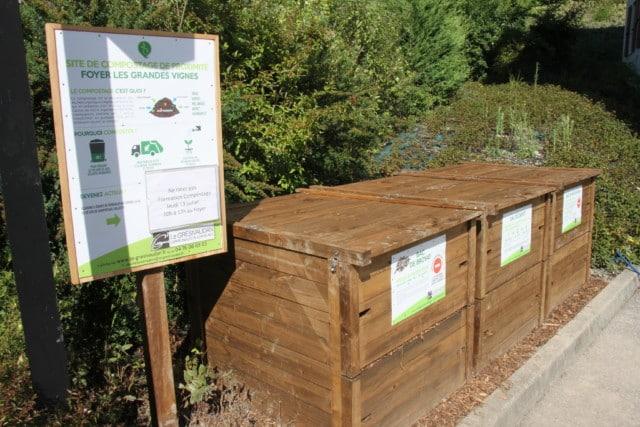 Le Grésivaudan met également à disposition des composteurs collectifs sur son territoire © Grésivaudan