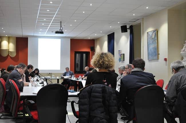 Les élus de Sassenage lors du conseil municipal, ce lundi 13 mars. © Giovanna Crippa - Place Gre'net