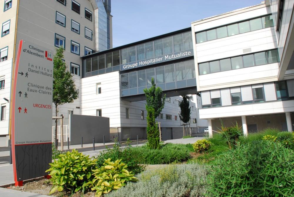 Le Groupe hospitalier mutualiste de Grenoble. DR