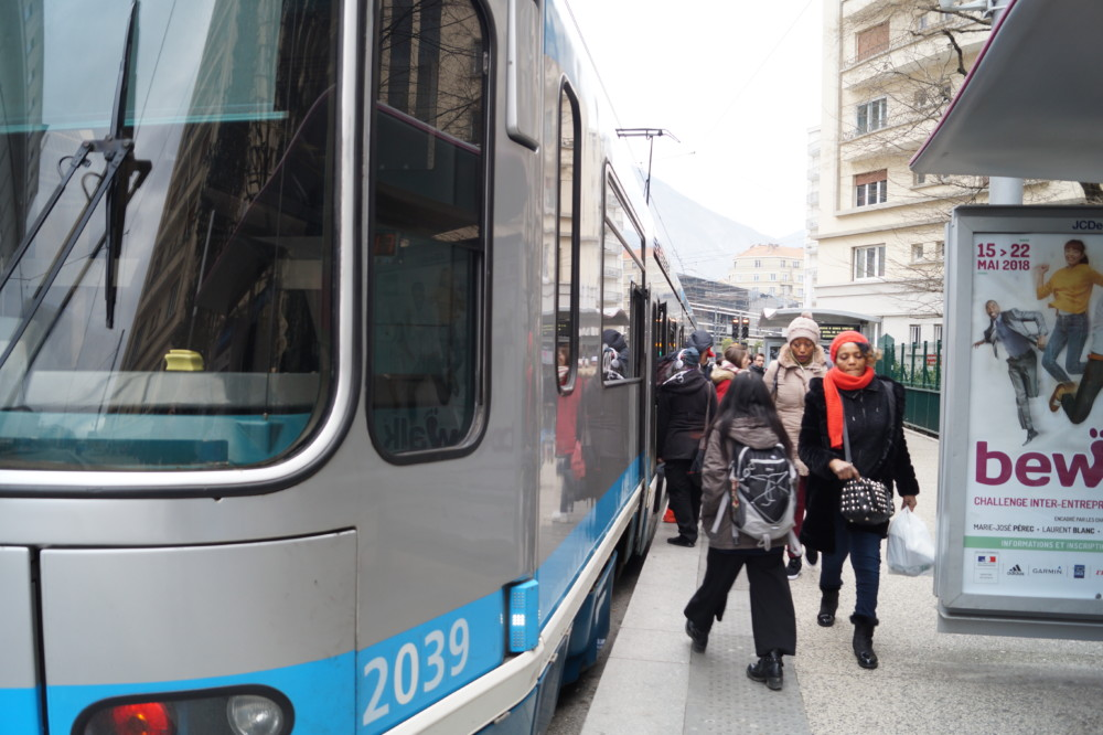 Une gratuité des transports en commun à Grenoble ? © Léa Raymond - Place Gre'net