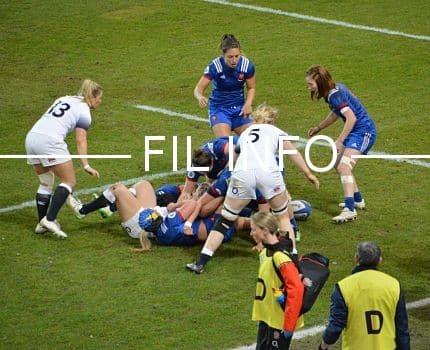 L'équipe de France féminine de rugby va affronter la Nouvelle-Zélande au stade des Alpes en novembre. © Laurent Genin