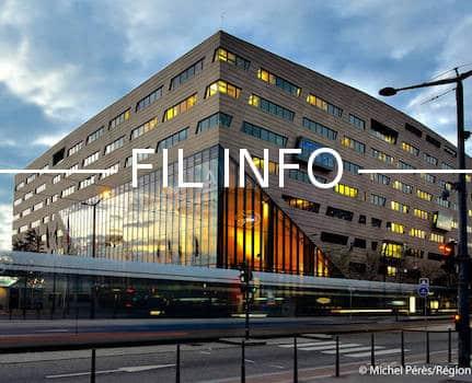 L'hôtel de Région à Lyon © Michel Pérès Région Auvergne Rhône-Alpes