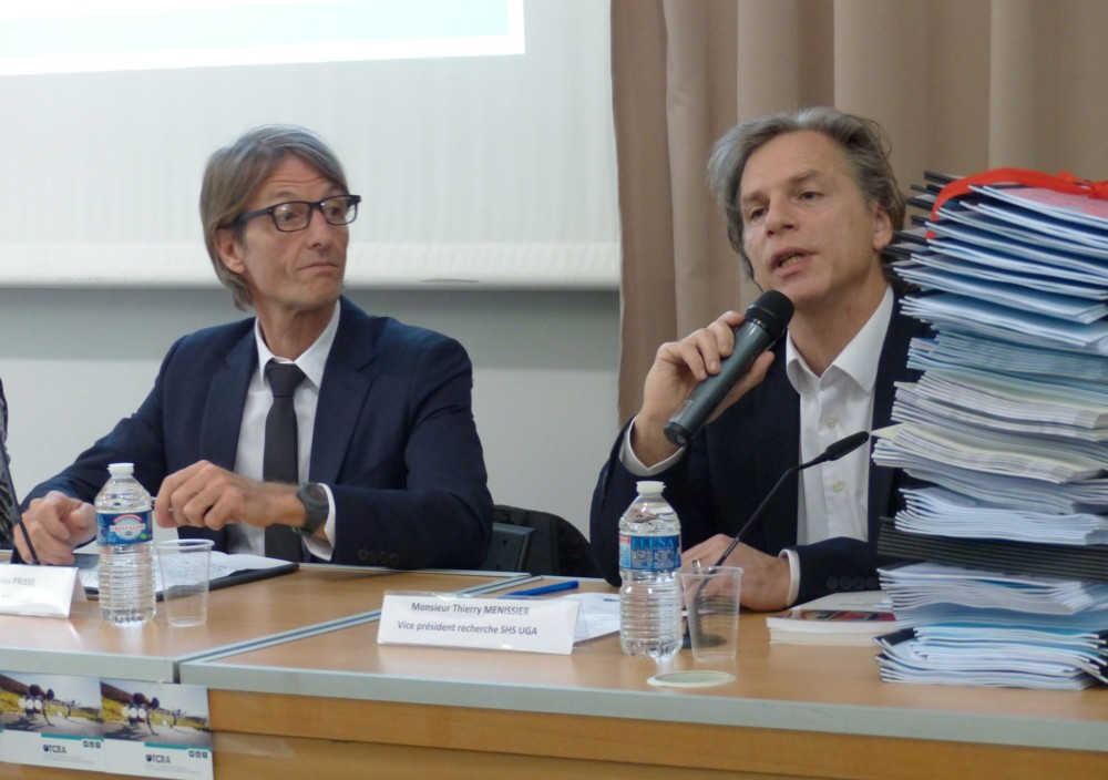 Nicolas Prisse et Thierry Menissier © Florent Mathieu - Place Gre'net