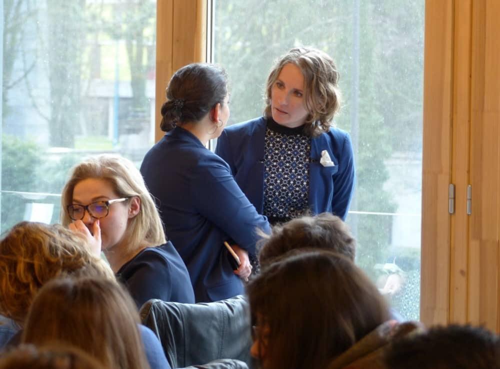 Anca Ailincai, professeure de droit, responsable de la Clinique juridique de la Faculté de droit de l'UGA © Florent Mathieu - Place Gre'net