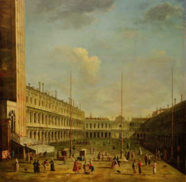 Venise par Bernardo Bellotto, XVIIIe