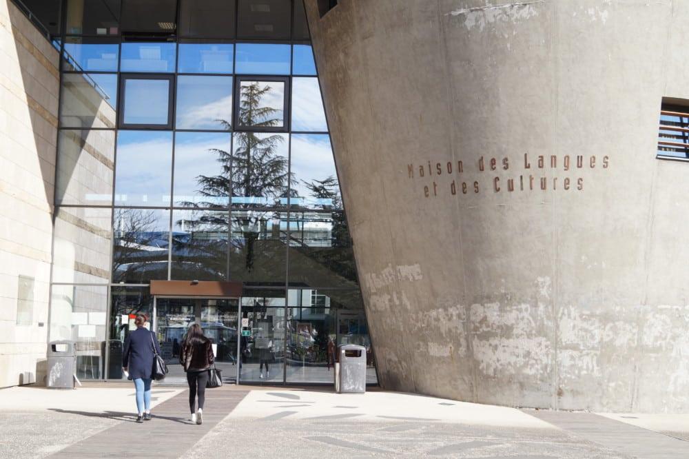 La maison des langues et de la culture, sur le campus de Grenoble. © Léa Raymond - placegrenet.fr