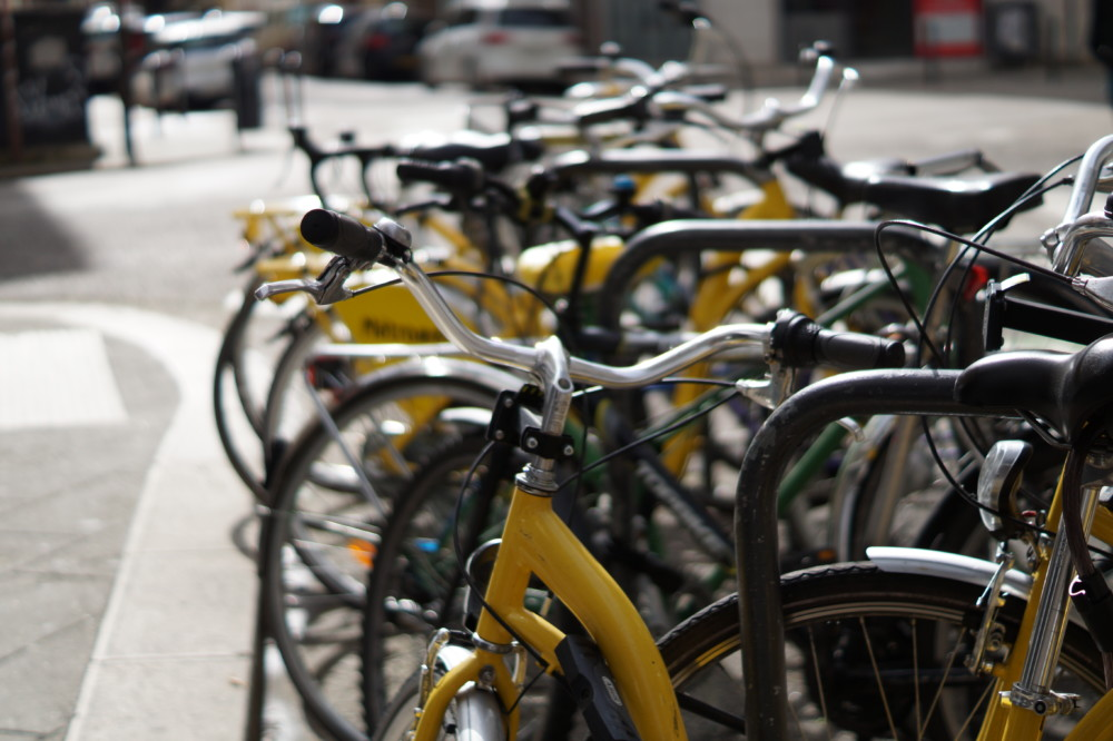 Les Metro vélos, à Grenoble. © Léa Raymond - placegrenet.fr