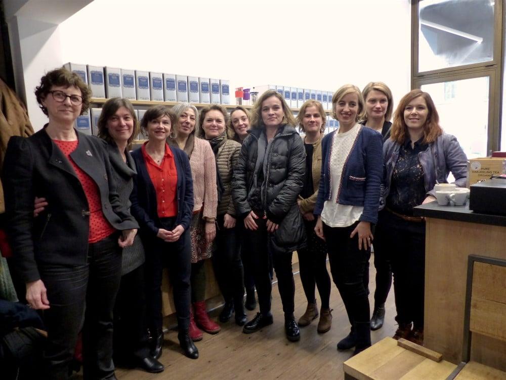 Membres de l'interréseau Réselle pour un entrepreneuriat féminin inspirant. © Muriel Beaudoing - Placegrenet.fr
