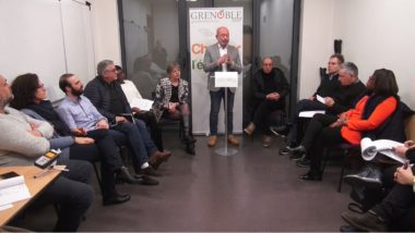 Présentation du projet Grenoble 2020. © Joël Kermabon - Place Gre'net