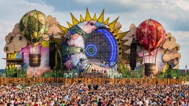 Festival Tomorrowland (Belgique). DR
