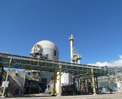 Le site industriel Vencorex, basé sur la plate-forme de Pont-de-Claix. DR
