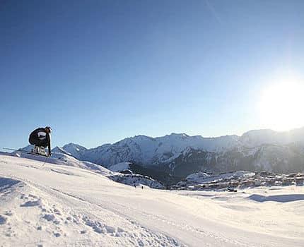 L'Eurostar ne desservira plus les stations de ski en hiver. Jeudi 29 et vendredi 30 mars, l'Alpe d'Huez accueille pour la troisième année d'affilée le championnat de France universitaire de ski alpin.Ski Alpe d'Huez Ophélie David. © Archive Nils Louna