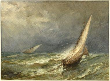 Félix Ziem, Gros temps (marine)