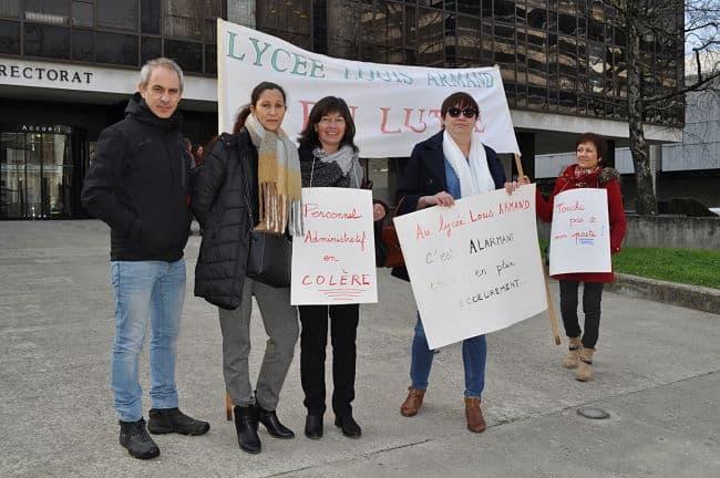 Les délégués du lycée polyvalent Louis Armand. © Giovanna Crippa - Place Gre'net