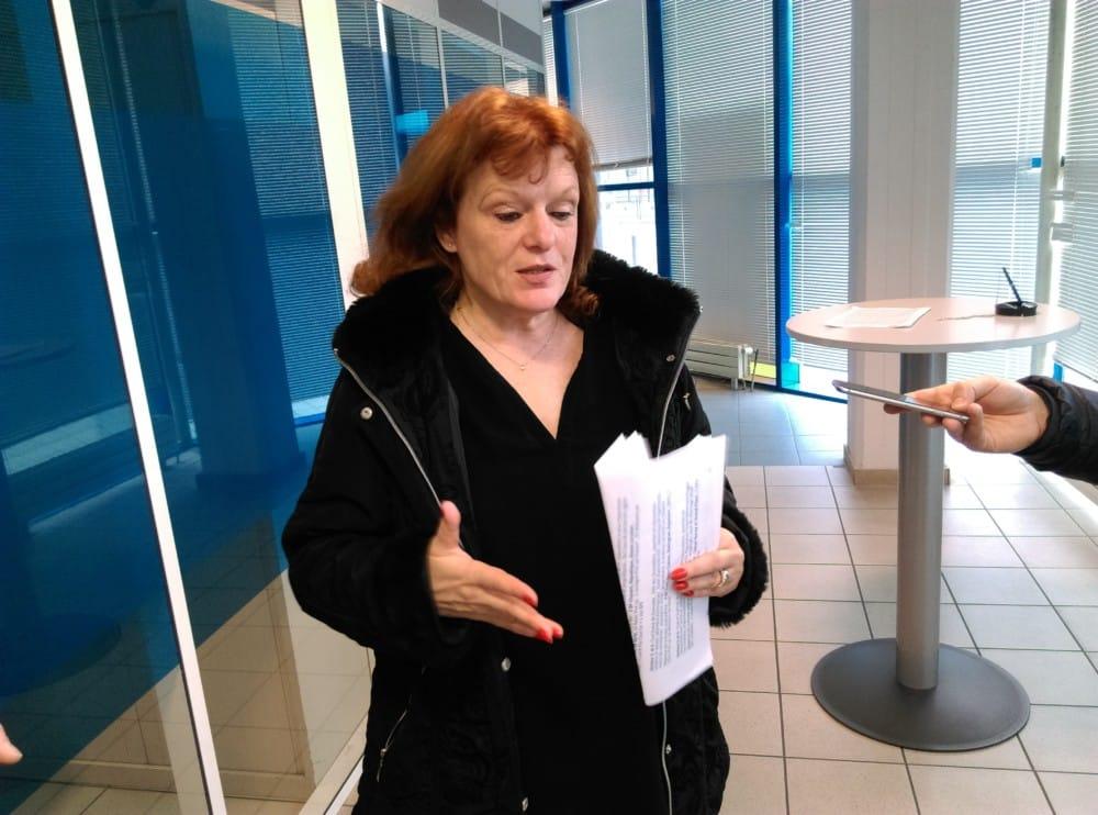 Anne-Marie Vassallo, directrice du réseau La Poste Alpes-Vallée Rhodanienne © Florent Mathieu - Place Gre'net