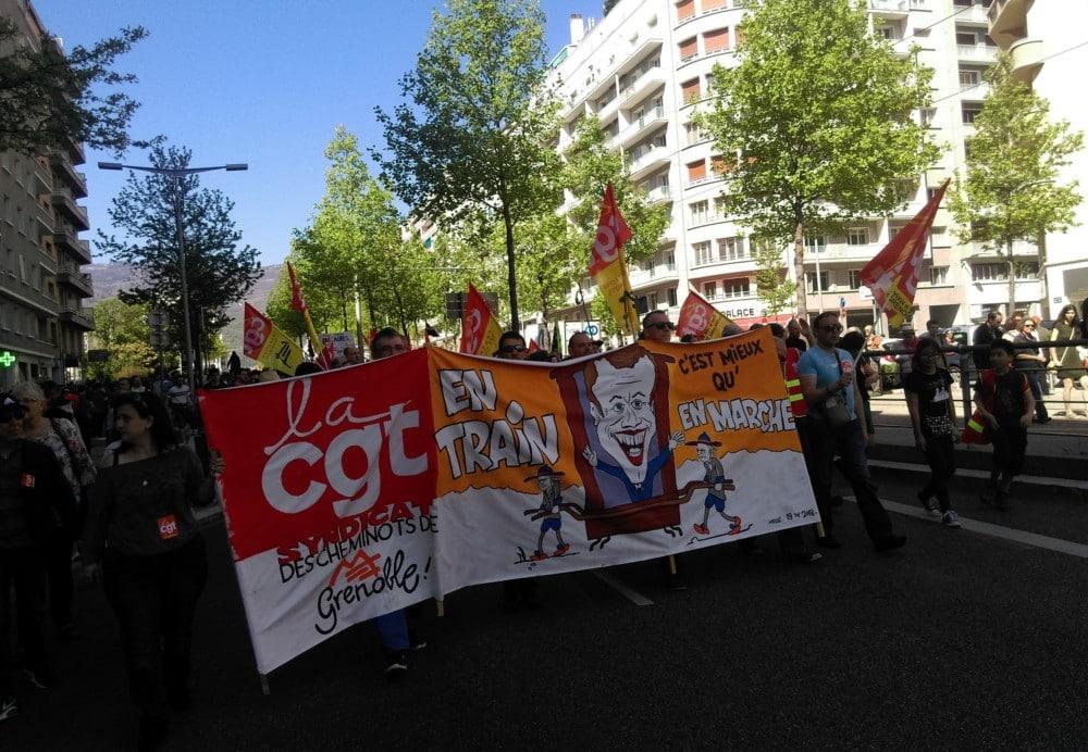 La manifestation grenobloise du 1er mai s'inscrit dans un contexte de contestation sociale très prononcée… sans que l'union des syndicats ne se réalise.