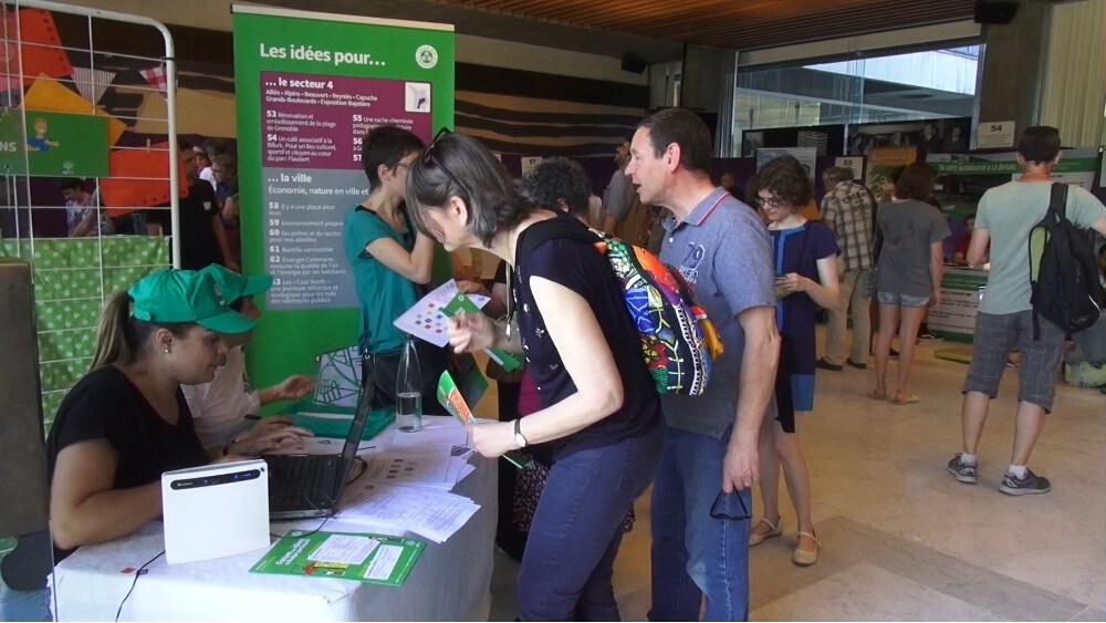 Forum des Idées 2018, ex-Ruche aux projets © Joël Kermabon - Place Gre'net