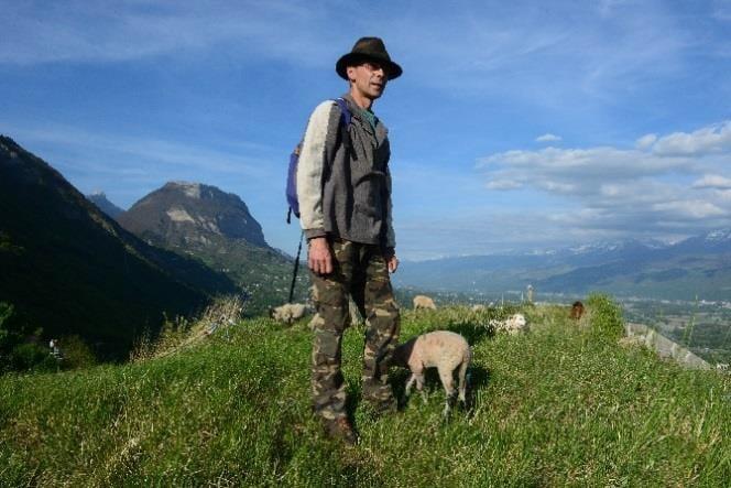 Xavier Beaufils, berger Quaix-en-Chartreuse © Grenoble-Bastille
