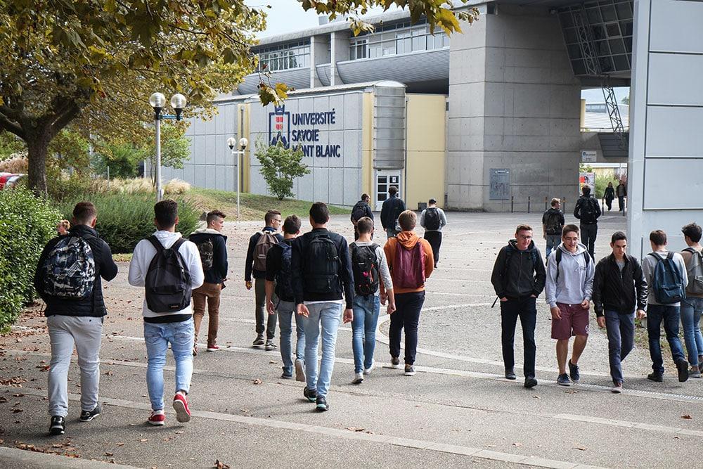 Campus du Bourget-du-Lac de l'Université Savoie Mont Blanc © USMB