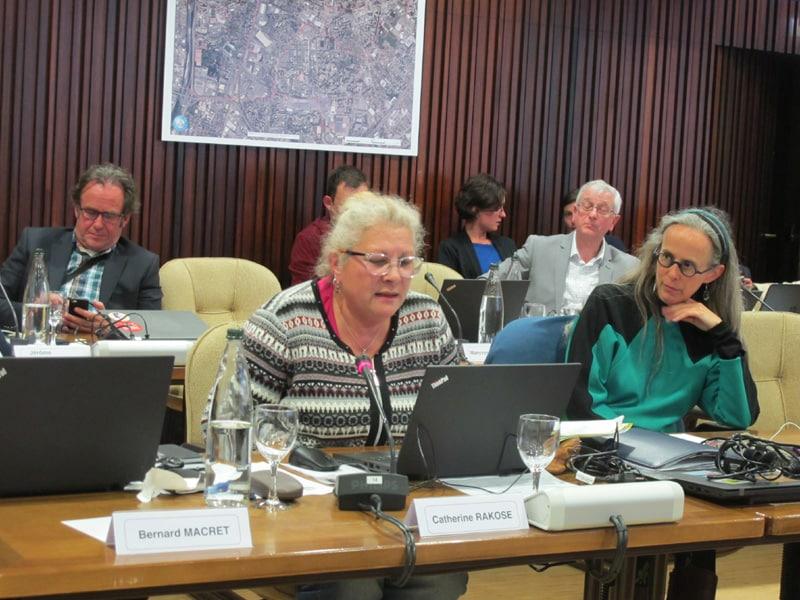 Catherine Rakose, élue du Secteur 6. de la Ville de Grenoble. © Séverine Cattiaux - Place Gre'net