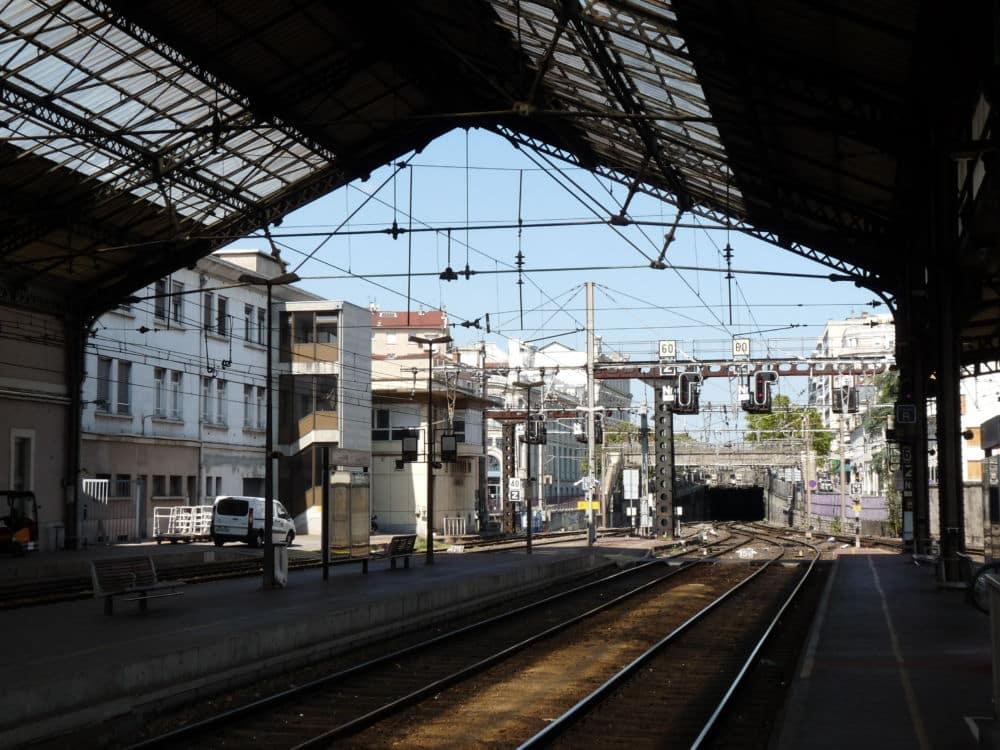 Gare de Valence-Ville. DR
