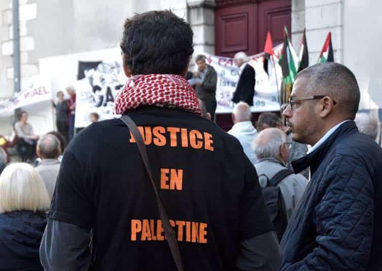 Manifestation en faveur de la Palestine à Grenoble © AFPS 38