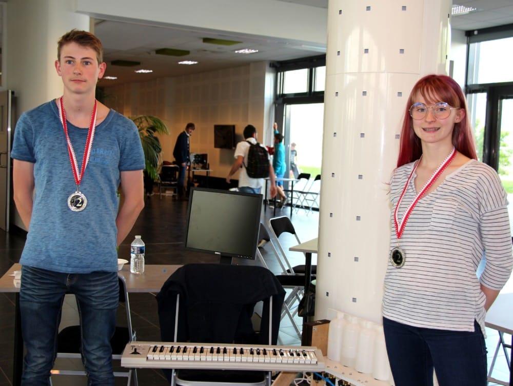 Le pianococktail, tout droit sorti de l'univers de Boris Vian, a reçu le deuxième prix © UPSTI