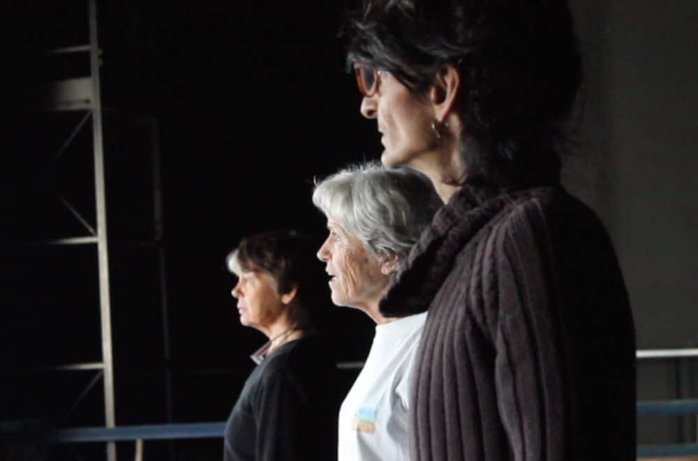 Un moment de répétition du Soulier de satin © Théâtre Ensemble