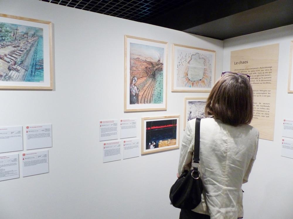 Exposition Hibakusha, au Musée de la Résistance et de la Déportation © Émilan Tutot - Place Gre'net