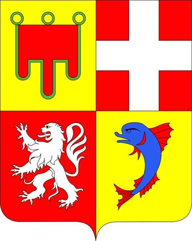 Le futur blason de la Région Auvergne-Rhône-Alpes