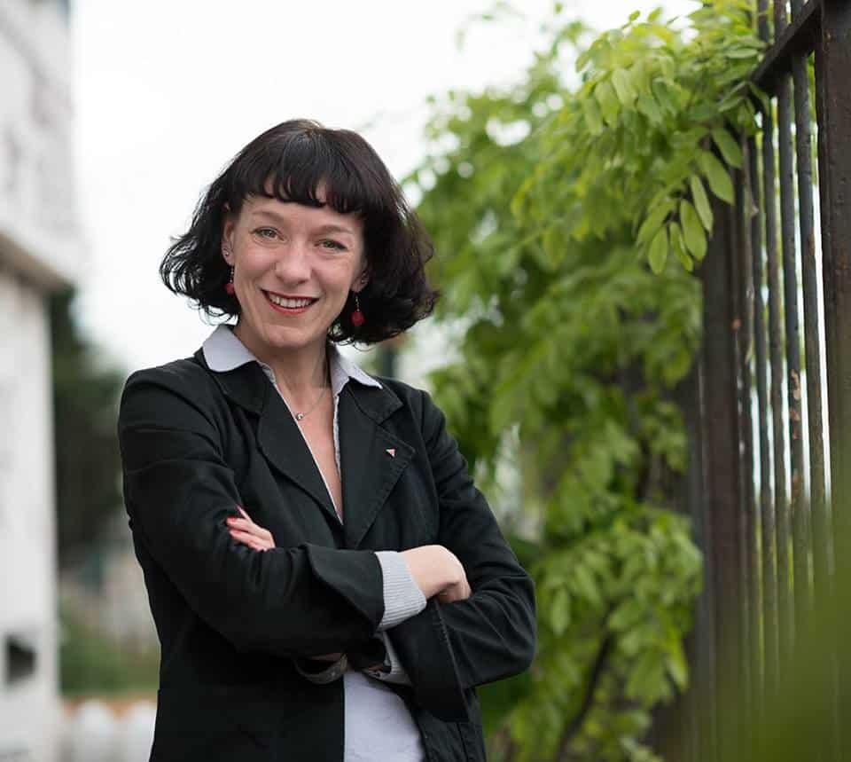 La conseillère régionale d'opposition RCES Corinne Morel Darleux © Corinne Morel Darleux