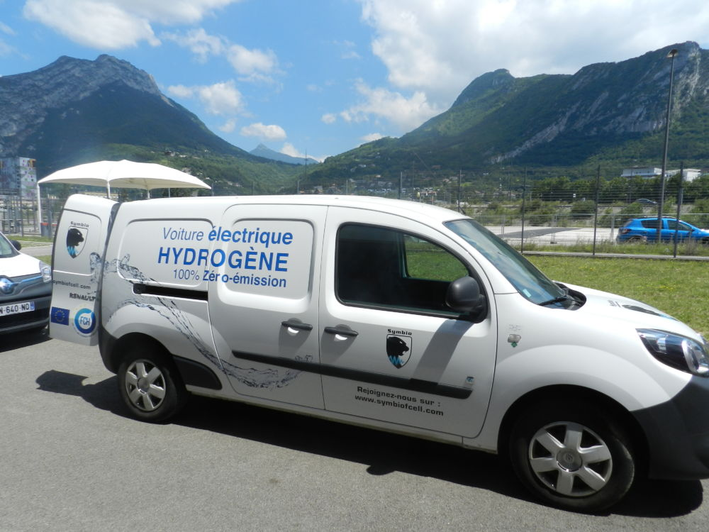 Les véhicules à hydrogène font partie des éléments de projets recherchés par l'État © Edouard Merlo
