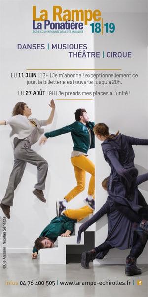 Saison 2018-2019 La Rampe La Ponatière : danses musiques théâtre cirque