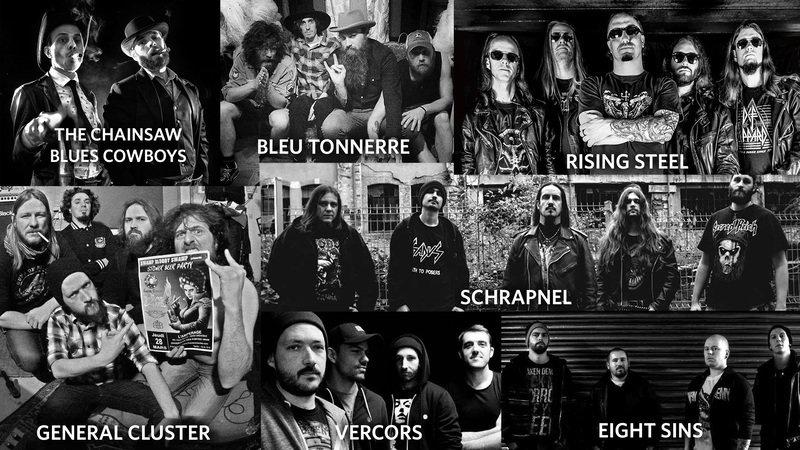 Les groupes de la Clé de sol © Music'ngre
