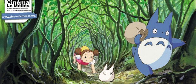 Totoro au Méliès à l'occasion des 30 ans de la sortie du film