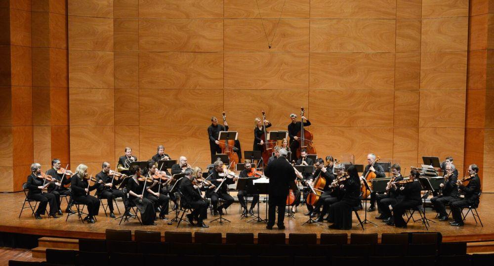 Les Musiciens du Louvre en représentation © Anthony Cottarel