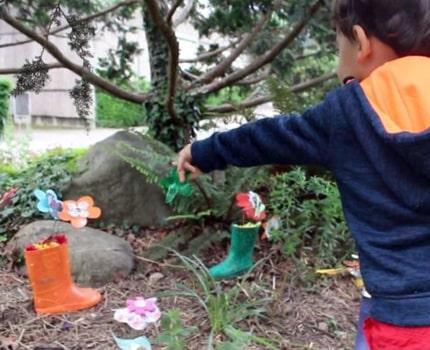 """Ce lundi au Muséum de Grenoble avait lieu l'inauguration d'un jardin """"extraordinaire"""", une exposition réalisée par... Des enfants de 0 à 6 ans."""