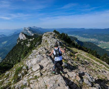 Une Ut4M, ultra-trail des 4 massifs autour de Grenoble. © Ut4M / Yves Gaigé