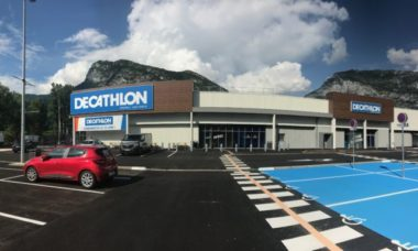 Le magasin Decathlon à Saint-Égrève emménage dans de nouveaux locaux. Crédit photo : Decathlon Saint-Égrève.