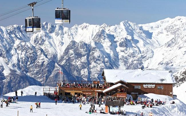 Station des Deux-Alpes © Office du Tourisme Les Deux-Alpes