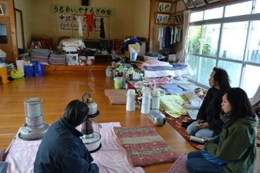 Le Secours populaire avait apporté de l'aide en 2011 après Fukushima © SPF