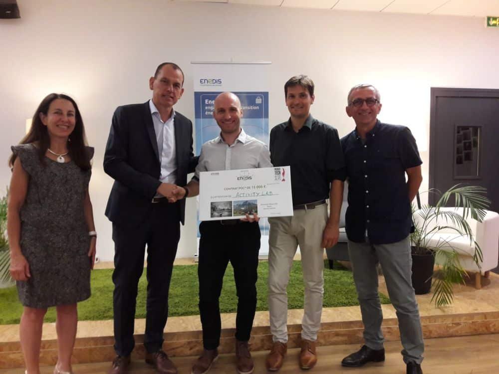 Activity Lab récompensée lors du Concours Start Up Enedis 2018 © Enedis
