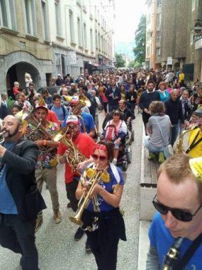La Région Aura débloque 60 000 euros pour les fanfares.Derby des fanfares grenobloises