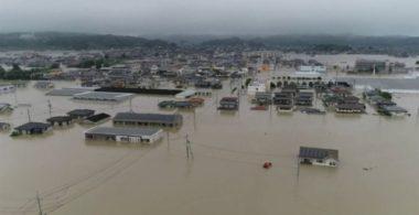 Inondations dans l'ouest du Japon