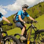 Randonnée en vélo à assistance électrique (VAE). © Département de l'Isère