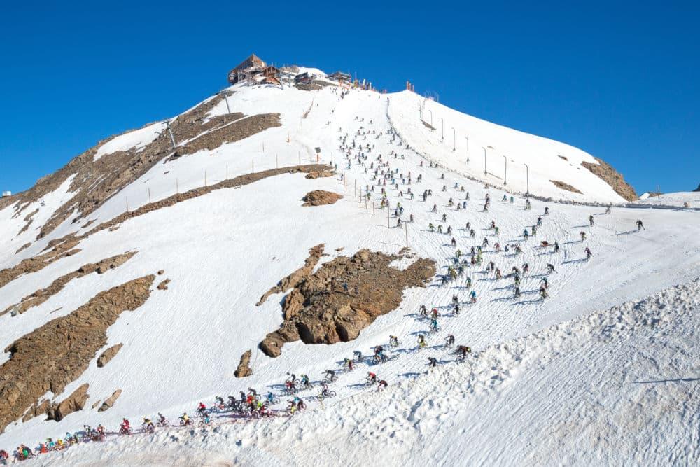 Le glacier du Pic Blanc à l'Alpe d'Huez. © Laurent Salino - Alpe d'Huez