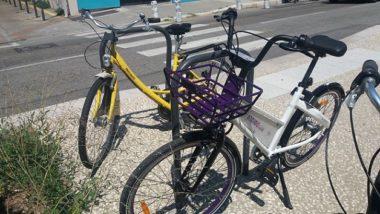 Jaune ou indigo ? Ce nouveau service pourrait bien être un concurrent pour Métro vélo © Florian Espalieu - Place Gre'net