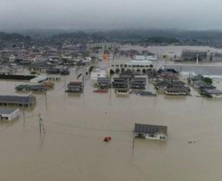 Le Secours populaire français lance un appel aux dons après les inondations qui frappent le Japon depuis le 5 juillet dernier, provoquant près de 200 morts.Inondations dans l'ouest du Japon